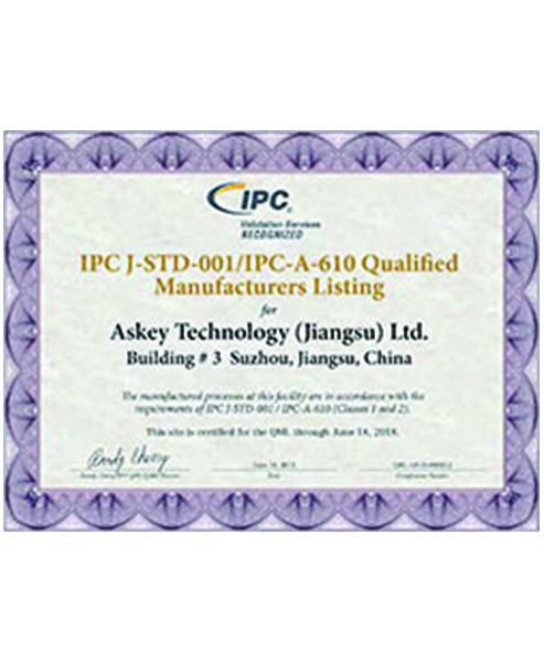 IPC J-STD-001/IPC-A-610